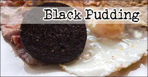 Weird Traditional British Food: black-pudding blood sausage