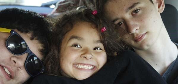 Kids love road trips: Rent a car