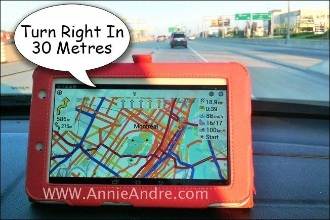 use your tablet as a gps device when you travel