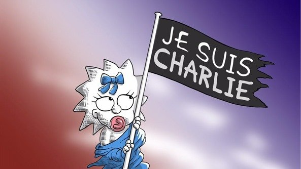 jesuischarlie-simpsons