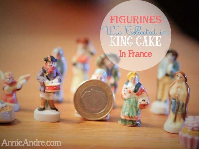 percelain figurines we found in our king cake in France