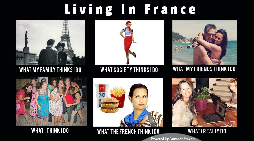 I hate that some French people think All Americans eat McDonalds and are fat