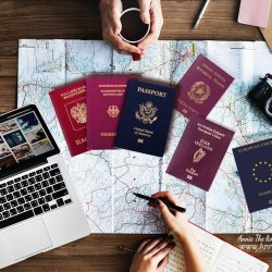 How to get an EU passport through descent and live in France