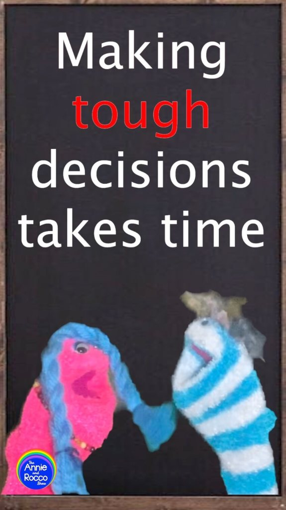 Making Tough Decisions for Kids