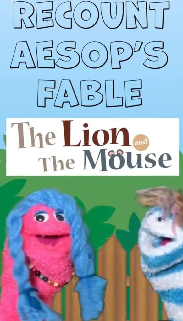 Recounting a Fable Lesson ELA