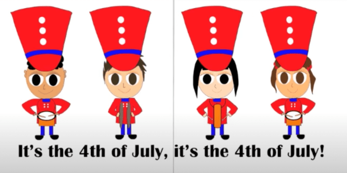 4th of July Song for Kids