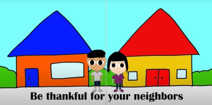 Thankful Song for Kids