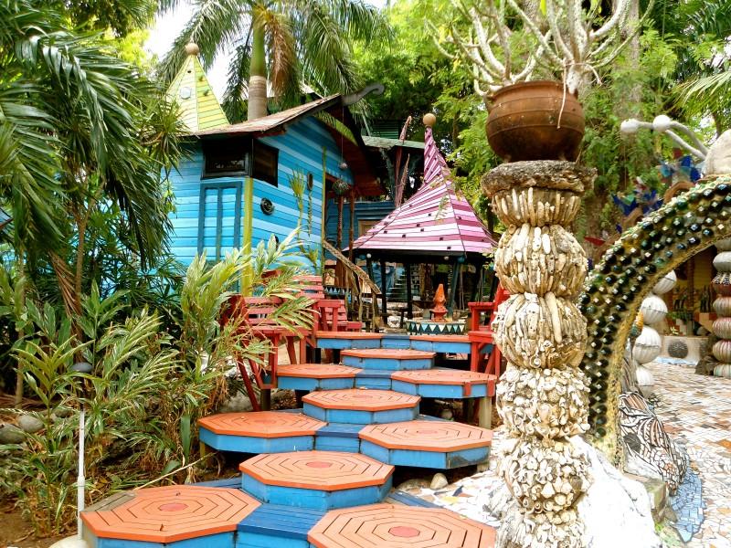 Jade Seahorse, hotel on Utila, Honduras