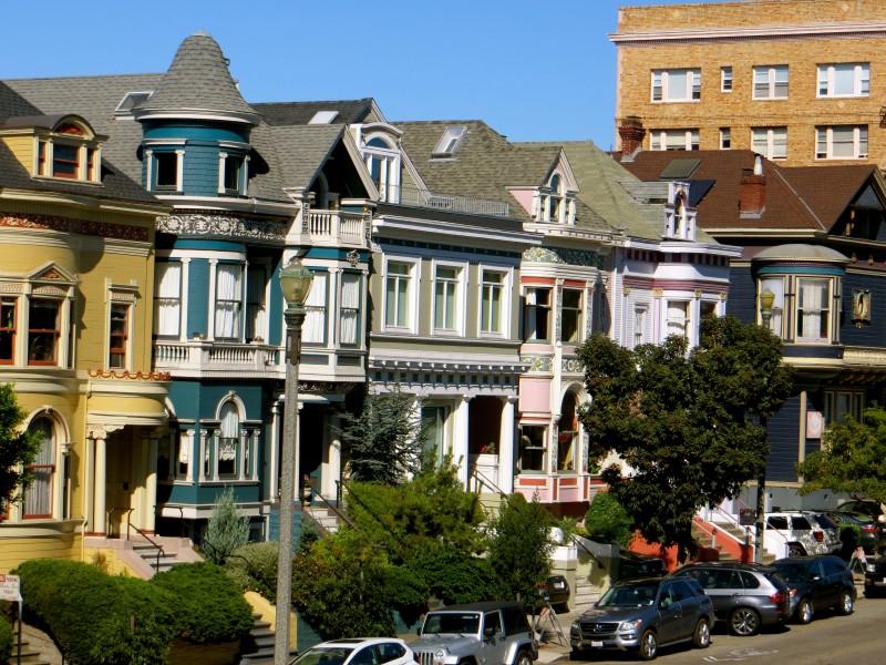 Houses in San Francisco | California Road Trip