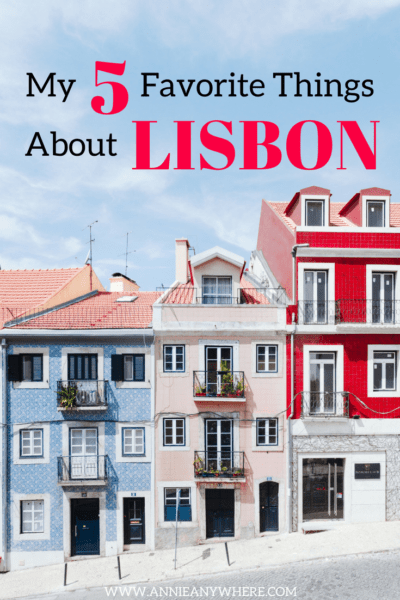I fell in love with Lisbon for so many reasons, but here's the 5 things I like the most about Lisbon, Portugal, and why you'll love it too. #Portugal #travel #backpacking #Lisbon