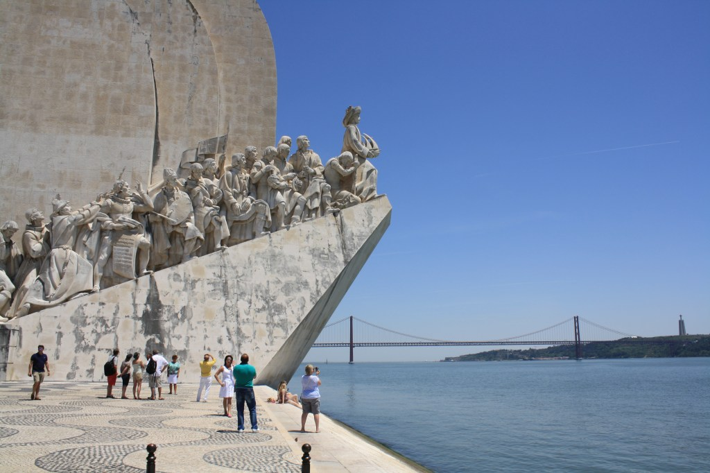 Monument to the Discoveries near the Taugus river, in Lisbon