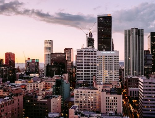 Sunset in Los Angles - Photo from Unsplash