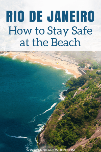 I asked a local how to stay safe at the beach in Rio de Janeiro. Here's what she had to say about it. #Riodejaneiro #travel #backpacking #beach #Brazil #holiday