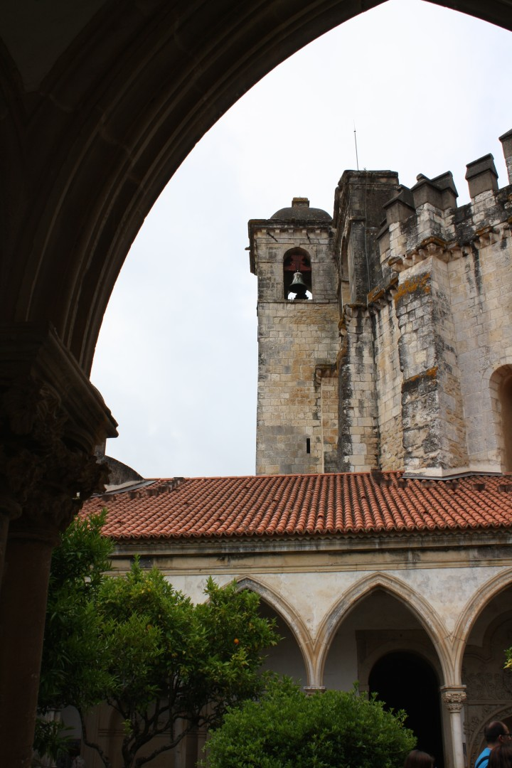 View from a window at the Covento De Cristo