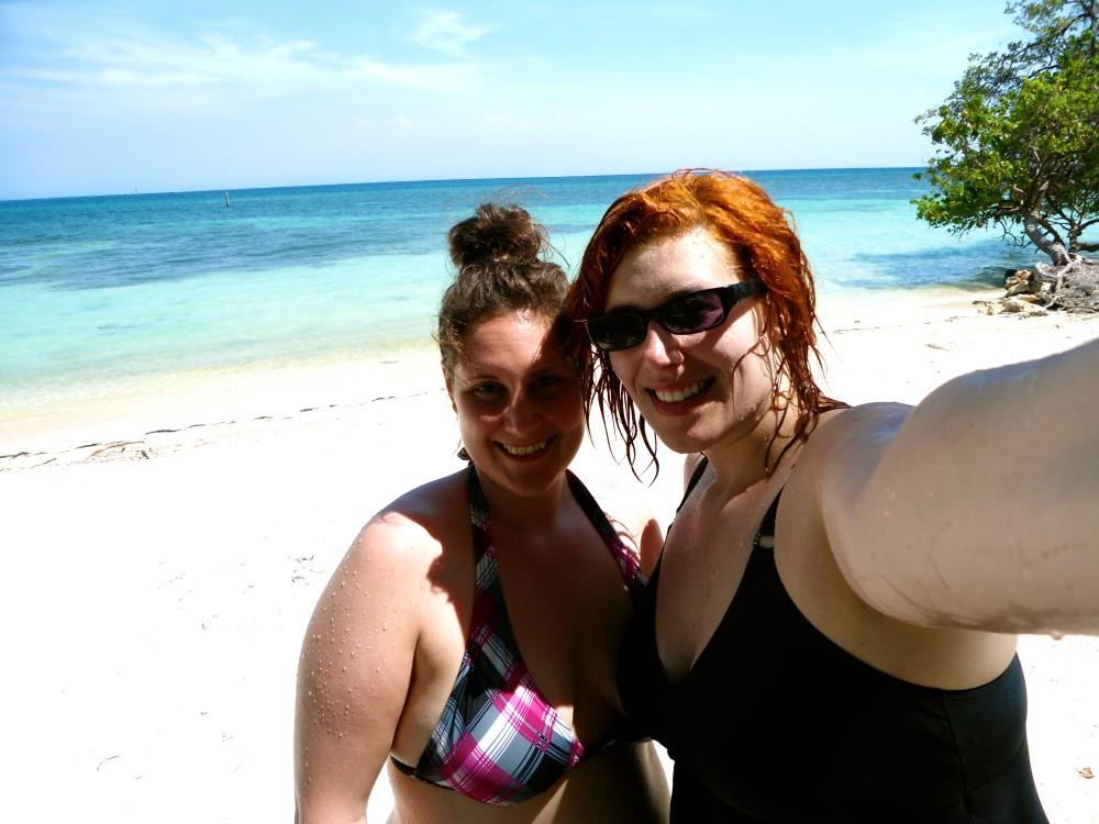 Selfie in Honduras with my travel partner