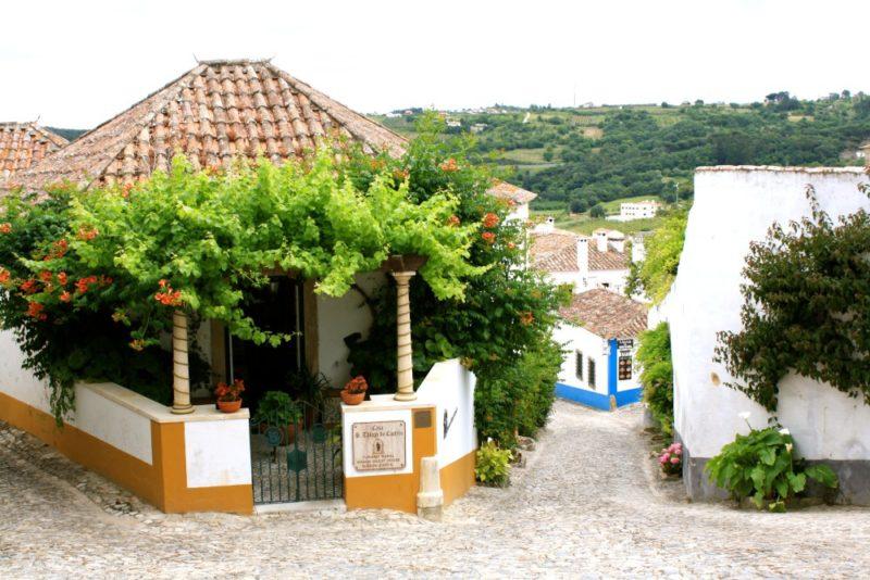 Obidos Village in Portugal