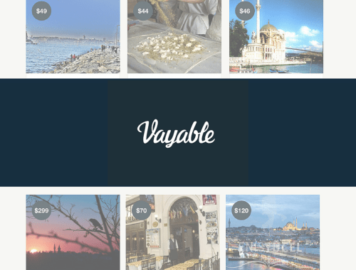 Vayable: The AirBnB for Tours