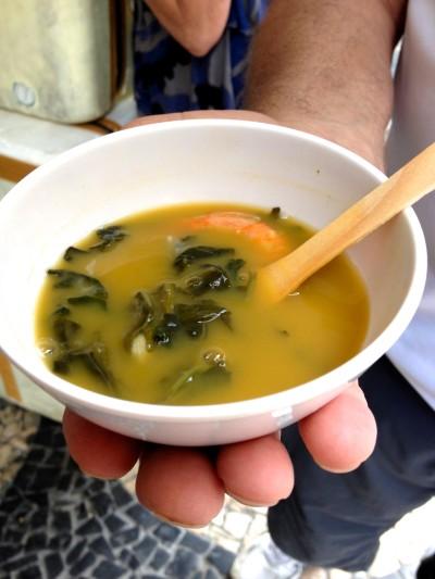 Amazonian soup from Brazil