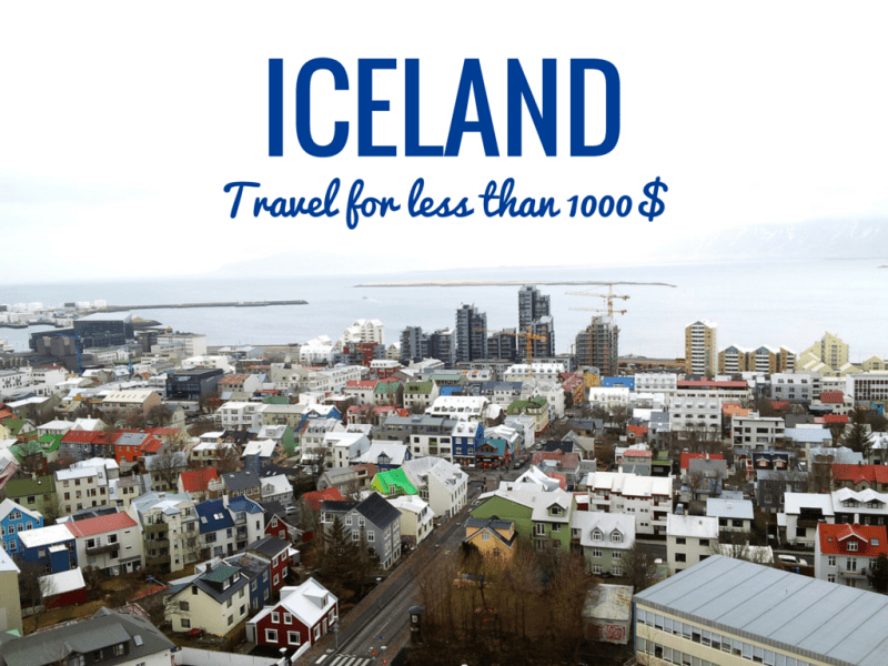Visit Iceland for less than 1000$