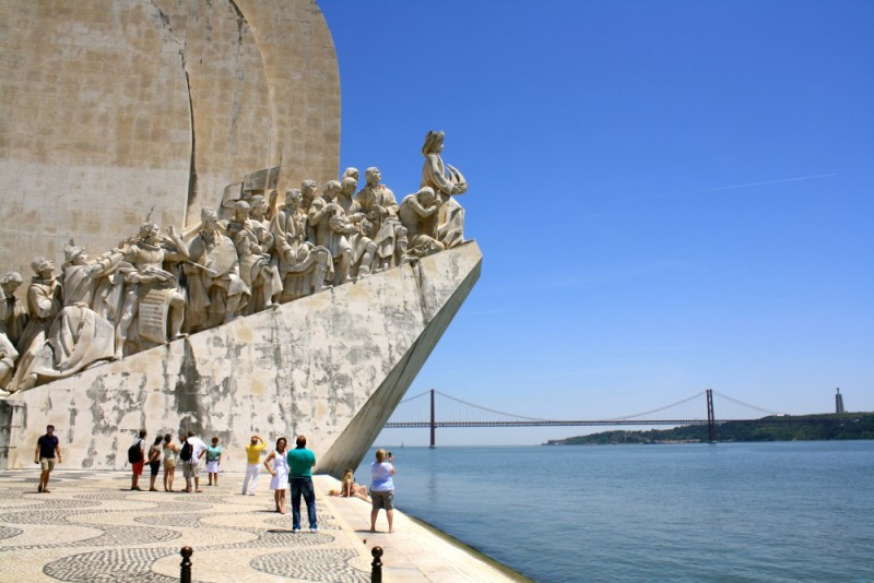 Monument of Discoveries. Bélem, Lisbon, Portugal