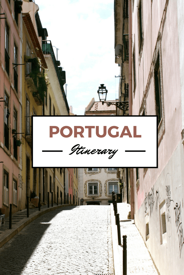 12 Days to Visit Portugal - A complete itineraries including what to see, what to do and where to sleep in Lisbon, Porto, Algarve, Obidos, Sintra and more! #Portugal #travel #backpacking #Lisbon #Porto