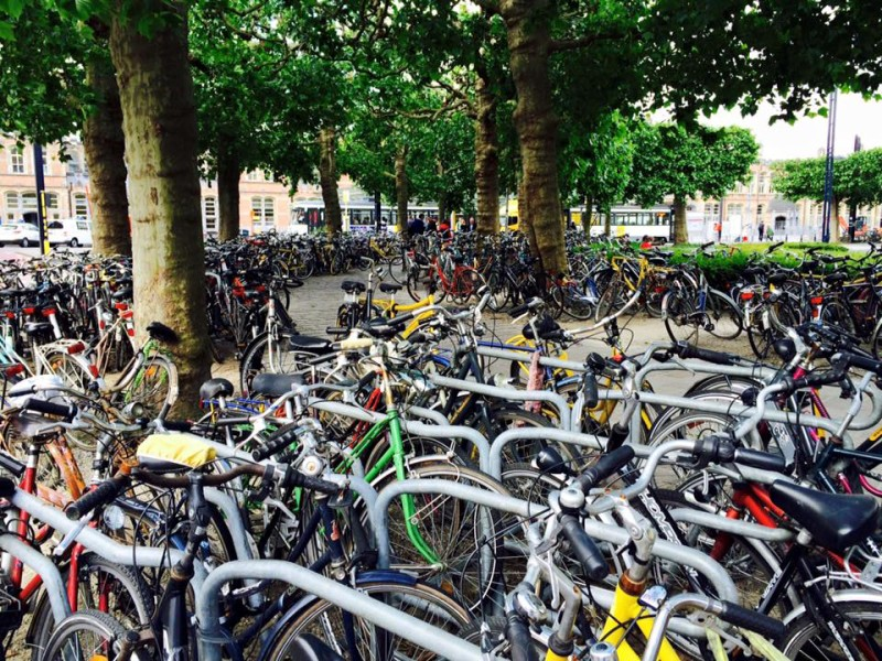 Cycling culture in Ghent, Belgium
