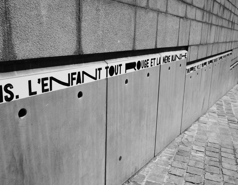 Poems in town - Mons 2015