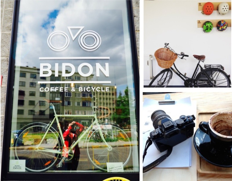 Bidon Coffee & Bicycle in Ghent