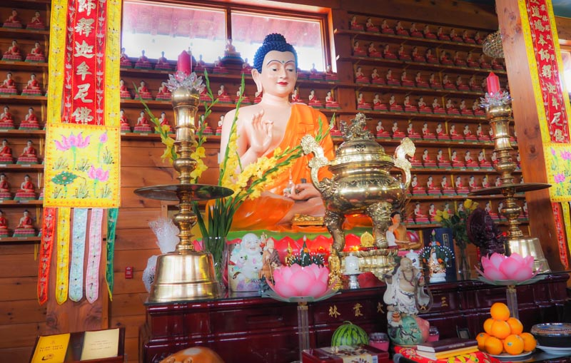 Inside Tam Bao Son Temple