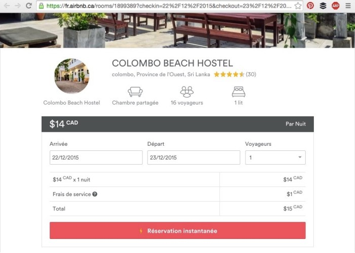 AirBnb Colombo