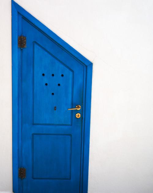 Door in Kastraki, Naxos
