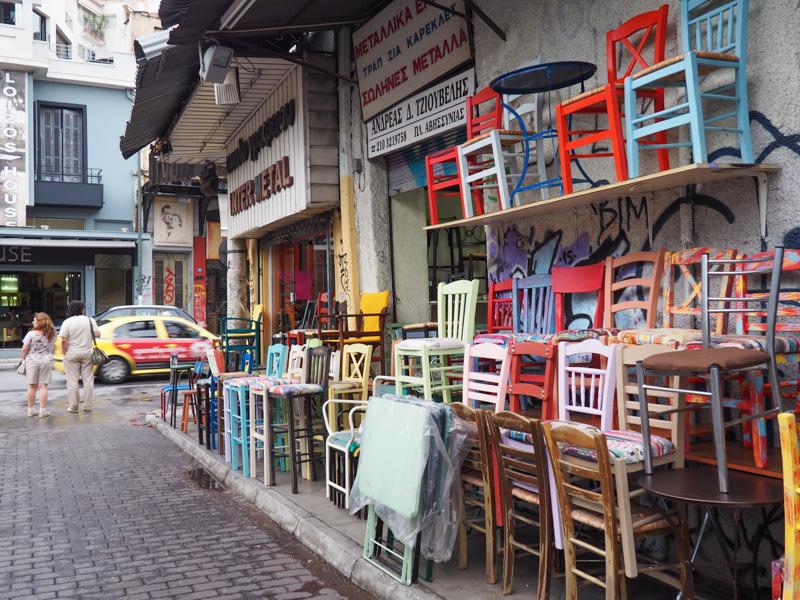 Monastiraki Flea Market in Athens