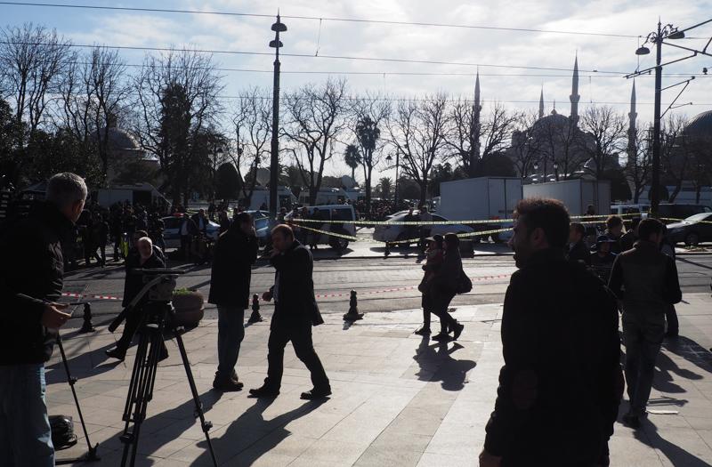 Attentat Janvier Istanbul