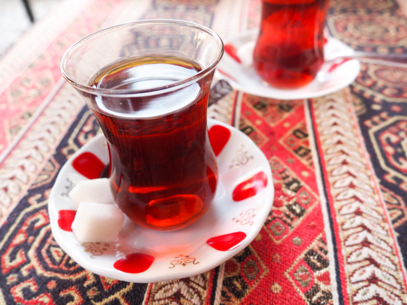 Thé Istanbul 12 janvier