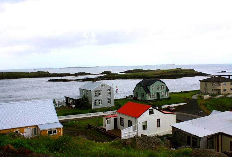 Ville de l'est en Islande