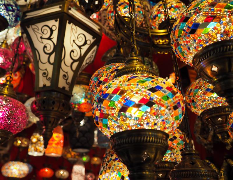 Lampes au Grand Bazar