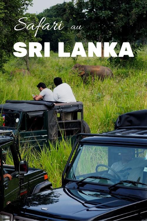 Faire un safari au Sri Lanka, ou chercher un éléphant dans une botte de foin. Une belle expérience au Hurulu Eco Park