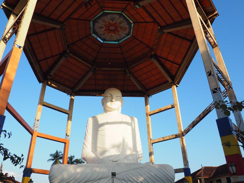 Bouddha à Anuradhapura