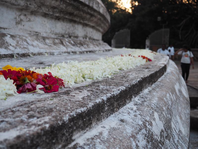 Pagode à Anuradhapura
