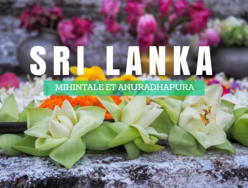 Visiter les sites de Mihintale et d'Anuradhapura