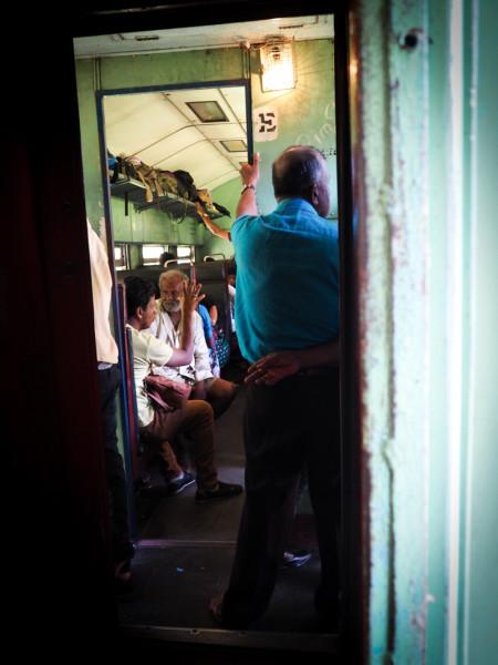 Trajets de train au Sri Lanka
