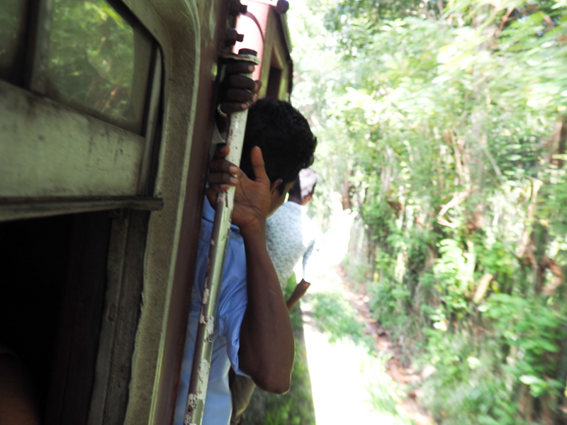 Histoires de train au Sri Lanka