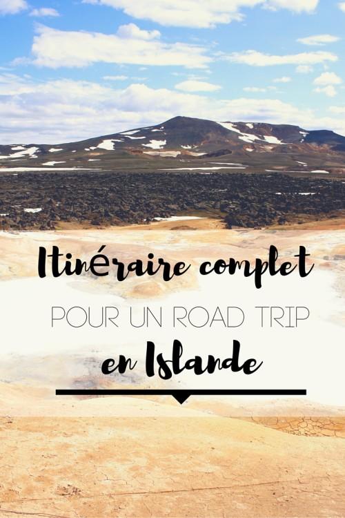 Itinéraire complet pour un road trip en Islande. Un détail jour par jour pour découvrir le meilleur du pays!