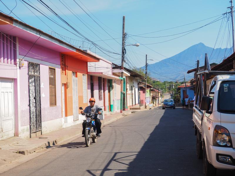 Façades colorées de Granada au Nicaragua