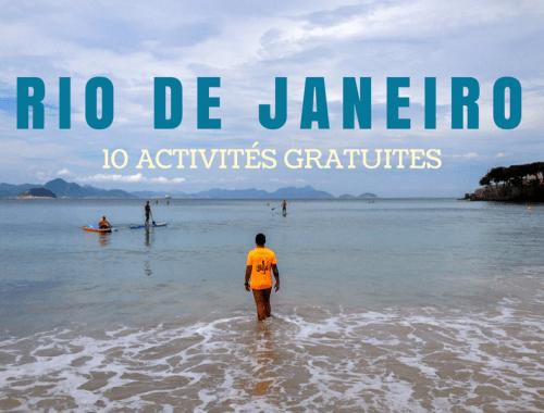 10 activités gratuites à faire à Rio de Janeiro
