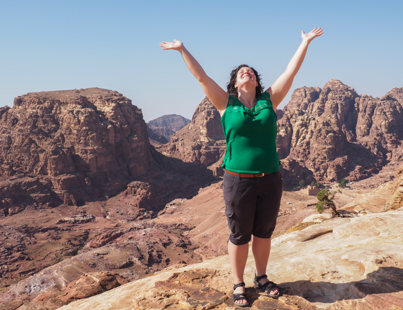 Haut lieu du sacrifice à Petra.