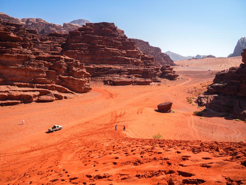 Majestueux désert du Wadi Rum