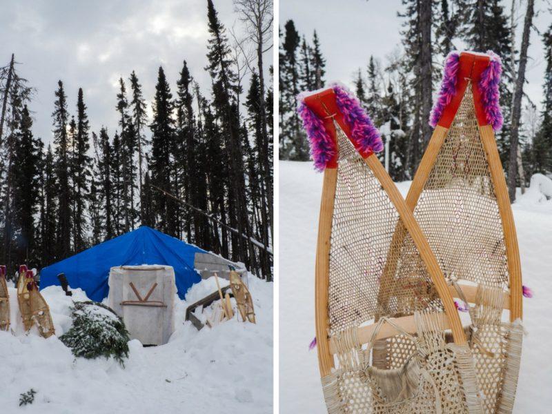 Camp Nuuhchimi Wiinuu à la Baie James.