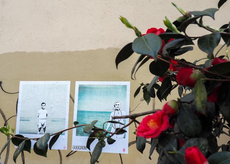 Street Art politique à Rennes. Artiste Bouchon.