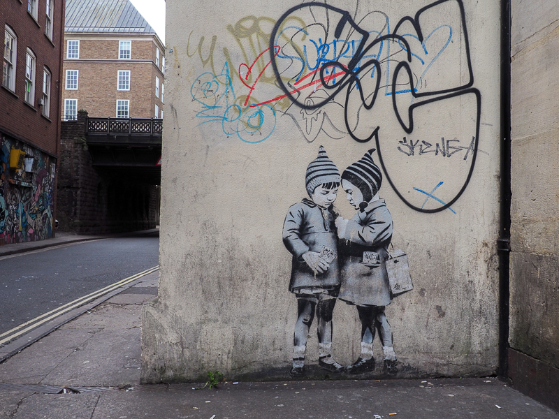 Artiste JSP à Bristol.